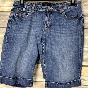 ##Banana Republic Factory size 10 jean shorts##